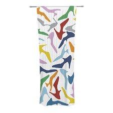 Shoe Curtain Panels (Set of 2)