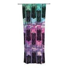 Paint Tubes II Curtain Panels (Set of 2)