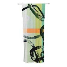 Sixties Stripe Curtain Panels (Set of 2)