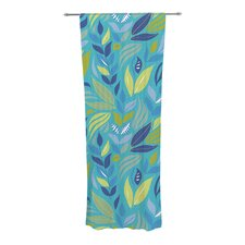 Underwater Bouquet Curtain Panels (Set of 2)