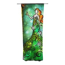Fairy Tale Frog Prince Curtain Panels (Set of 2)