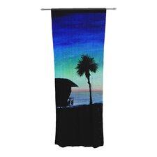 Carlsbad State Beach Curtain Panels (Set of 2)