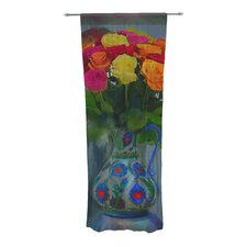 Spring Bouquet Curtain Panels (Set of 2)