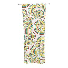 Rainbow Sky Curtain Panels (Set of 2)