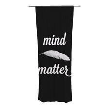 Mind Over Matter Curtain Panels (Set of 2)