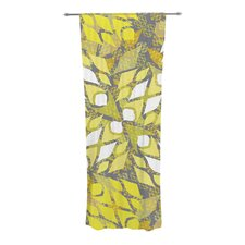 Sandy Signs Curtain Panels (Set of 2)