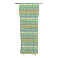 Chevron Love Curtain Panels (Set of 2)
