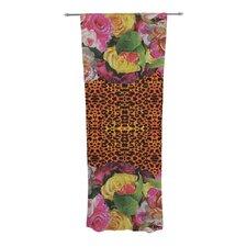 New Rose Eleo Curtain Panels (Set of 2)