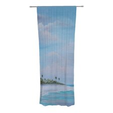 Carefree Caribbean Curtain Panels (Set of 2)