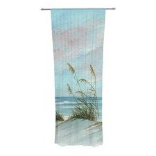 Sea Oats Curtain Panels (Set of 2)