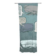 Whale Talk Curtain Panels (Set of 2)