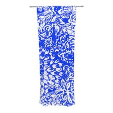Bloom Blue for You Curtain Panels (Set of 2)
