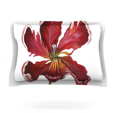 Open Tulip by Lydia Martin Pillow Sham
