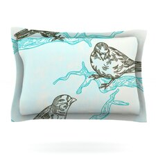 Birds in Trees by Sam Posnick Pillow Sham