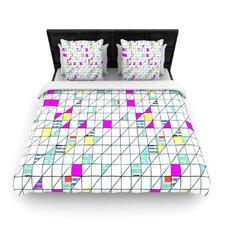 Squares by Michelle Drew Woven Duvet Cover