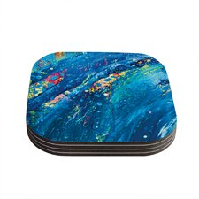 Big Wave by Theresa Giolzetti Coaster (Set of 4)