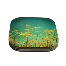 Flowers by Sylvia Cook Coaster (Set of 4)