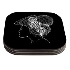 Organic by Jennie Penny Coaster (Set of 4)