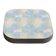 Paper Flower by Alison Coxon Coaster (Set of 4)