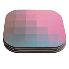 Girly Pixel Surface by Danny Ivan Coaster (Set of 4)