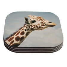 Giraffe by Angie Turner Coaster (Set of 4)