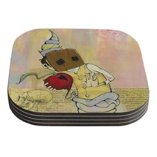 Thalamus by Matthew Reid Coaster (Set of 4)