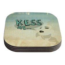 Kess Me by iRuz33 Coaster (Set of 4)