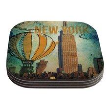 New York by iRuz33 Coaster (Set of 4)