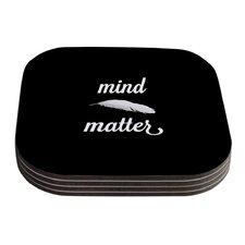 Mind Over Matter by Skye Zambrana Coaster (Set of 4)