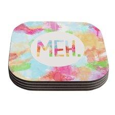 Meh by Skye Zambrana Coaster (Set of 4)