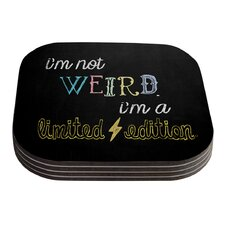 Weird by Skye Zambrana Coaster (Set of 4)