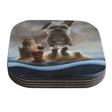 Grover by Graham Curran Coaster (Set of 4)