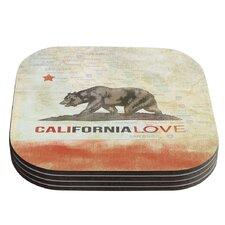 Cali Love by iRuz33 Coaster (Set of 4)