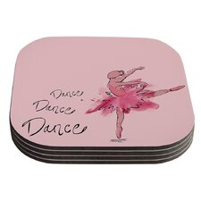Ballerina by Brienne Jepkema Coaster (Set of 4)