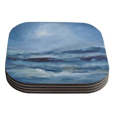 Rough Sea by Iris Lehnhardt Coaster (Set of 4)