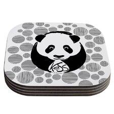 Panda Coaster (Set of 4)