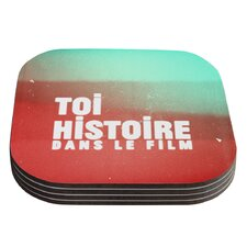 Toi Histoire by Danny Ivan Coaster (Set of 4)