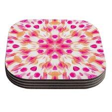 Batik Mandala by Iris Lehnhardt Coaster (Set of 4)