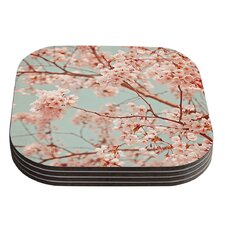 Blossoms All Over by Iris Lehnhardt Coaster (Set of 4)