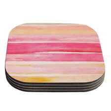 Color Play by Iris Lehnhardt Coaster (Set of 4)