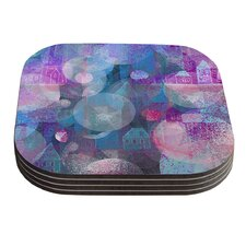 Dream Houses by Marianna Tankelevich Coaster (Set of 4)