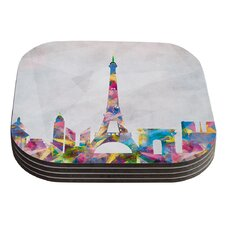 Paris by Mareike Boehmer Coaster (Set of 4)