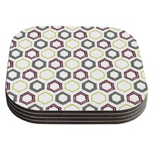 Hexy Small by Laurie Baars Coaster (Set of 4)