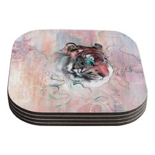 Illusive by Nature by Mat Miller Coaster (Set of 4)