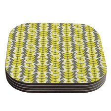 Whirling Leaves by Miranda Mol Coaster (Set of 4)