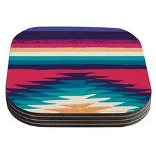 Surf by Nika Martinez Coaster (Set of 4)