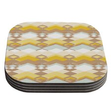 Retro Desert by Nika Martinez Coaster (Set of 4)