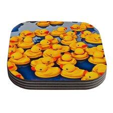Duckies by Maynard Logan Coaster (Set of 4)