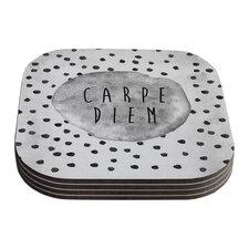Carpe Diem by Vasare Nar Coaster (Set of 4)