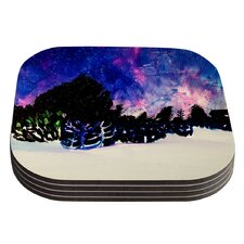 First Snow by Theresa Giolzetti Coaster (Set of 4)